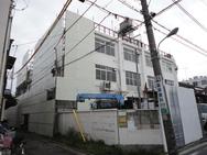 東京都 東洋紙業様 解体足場工事