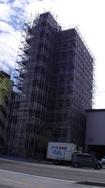 長野市 クレドール柳町様 大規模足場工事