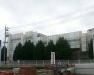 岡谷市 工業技術総合センター 外部足場工事