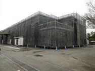 伊那市工場 第3・第4工場外部足場工事