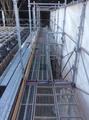 クリーンセンター八乙女最終処分場 支保工・外部足場工事