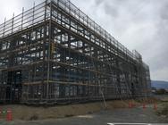 伊那市 工場新築足場工事